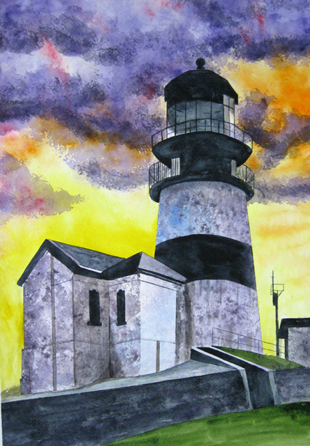 Cape Disappointment Lighthouse,  