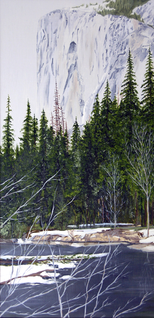 El Capitan with Merced River, 