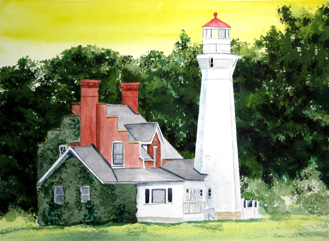 Port Sanilac Lighthouse, 