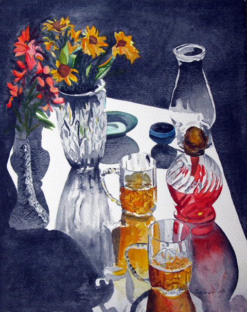 Still Life with Reflections, 