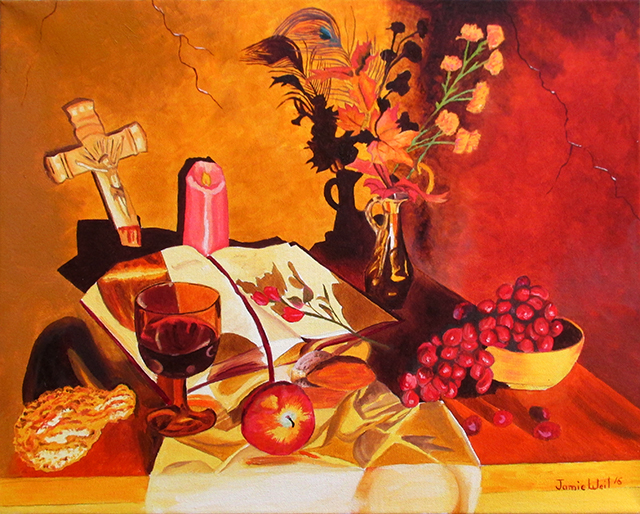 Still Life with Bible, 